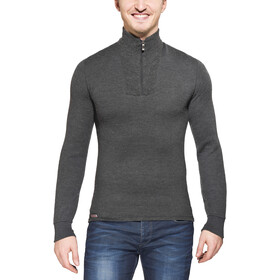 Woolpower 200 Zip Turtle Neck grey